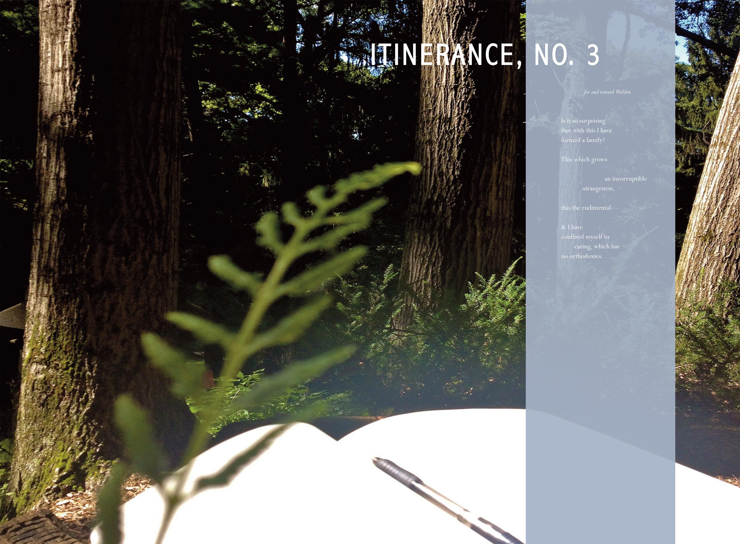 Christina Davis Itinerance 3